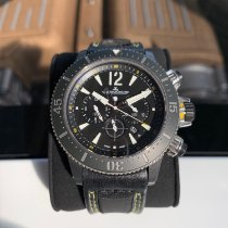 Jaeger-LeCoultre Master Compressor Diving Chronograph GMT Navy SEALs Titán Fekete