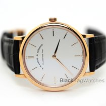 A. Lange & Söhne Saxonia Rose gold 40mm Silver No numerals United States of America, Florida, Aventura
