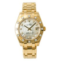 Rolex Pearlmaster Yellow gold 34mm Mother of pearl No numerals United States of America, New York, New York