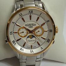 Roamer Steel 43mm Quartz new