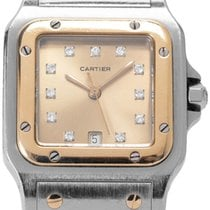 Cartier Santos Galbée W20030C4 187901 Good 29mm Quartz