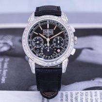 Patek Philippe Perpetual Calendar Chronograph Platinum 41mm Arabic numerals