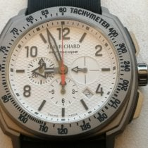 JeanRichard Aeroscope Titanium 42mm White Arabic numerals