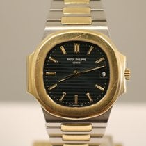 Patek Philippe 3800/1A-001 Gold/Steel 1987 Nautilus 37mm pre-owned