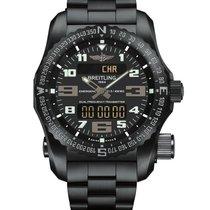 Breitling Emergency new Quartz Chronograph Watch with original box and original papers V7632522/BC46/159V