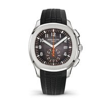 Patek Philippe Aquanaut Steel 42.2mm Black Arabic numerals United States of America, New York, New York