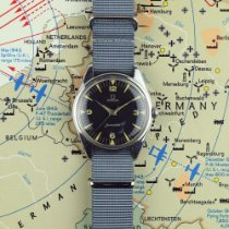 Omega Seamaster Stål 36mm Sort Arabertal