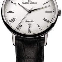Maurice Lacroix Stahl Automatik Weiß 38mm neu Les Classiques Tradition