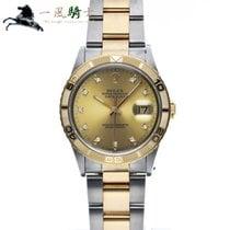 Rolex Datejust Turn-O-Graph Stahl 36mm Champagnerfarben