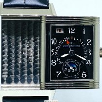 Jaeger-LeCoultre White gold Manual winding pre-owned Reverso (submodel)