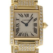 Cartier Tank Française W50002N2 2001 pre-owned