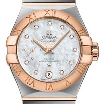 Omega Constellation Petite Seconde Goud/Staal 27mm
