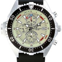 Chris Benz Depthmeter Chronograph CB-C200-N-KBS Herrenchronogr...