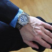 Chaumet Chronograph 45mm Automatik 2013 gebraucht Silber