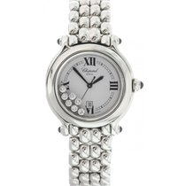 Chopard Happy Sport 8236 Stainless Steel Floating Diamonds