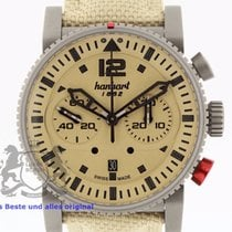 Hanhart Primus Desert Pilot 740.250 Box & Swiss Papers...