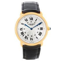 Cartier Ronde Louis Cartier Yellow gold 33mm Silver Roman numerals United States of America, Georgia, Atlanta