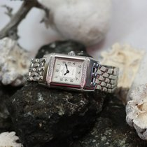 Jaeger-LeCoultre Reverso Lady Steel 21mm White Arabic numerals