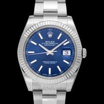 Rolex Datejust White gold 41mm Blue United States of America, California, San Mateo