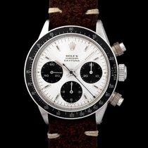 "Rolex Daytona 6240 With ""silver Big Logo"" Dial & Mki Pushers"