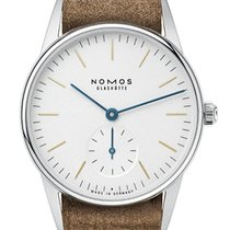NOMOS 321 Steel 2019 Orion 33 new