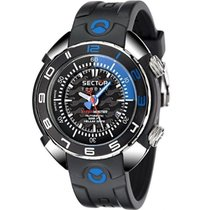 Sector Steel Automatic Black 53,3mm new Shark Master