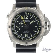 Panerai Luminor Submersible 1950 Depth Gauge usado 47mm Titânio