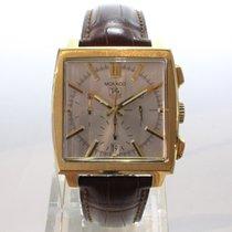 TAG Heuer Or jaune Chronographe Remontage automatique 40,50mm Monaco (Submodel)