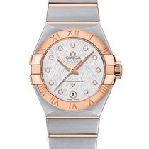 Omega Constellation Ladies Steel 27mm White United States of America, Florida, North Miami Beach