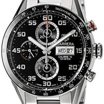 TAG Heuer new Automatic Display Back Small Seconds Luminescent Hands 43mm Steel Sapphire Glass