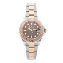 Rolex Yacht-Master 37 Steel 37mm Brown No numerals