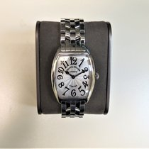 Franck Muller Cintrée Curvex Steel Silver Arabic numerals United States of America, Illinois, Chicago