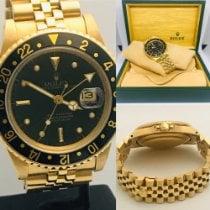 Rolex GMT-Master Żółte złoto 40mm Bez cyfr