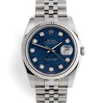 Rolex Datejust usados 36mm Azul Fecha Acero