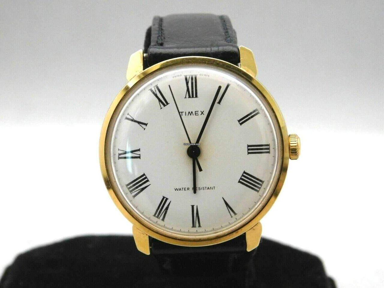 291463ef37b2 Timex Marlin Vintage Roman Numeral Dial Sweep Second Hand Mens... en venta  por  229 por parte de un Trusted Seller de Chrono24