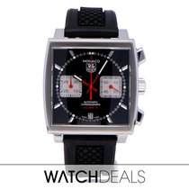 TAG Heuer Monaco Calibre 12 CAW2114.FT6021 2014 pre-owned