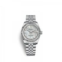 Rolex Lady-Datejust Or/Acier 31mm Nacre
