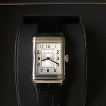 Jaeger-LeCoultre Reverso Classic Small Duetto Acier 34mm Noir Arabes France, PARIS