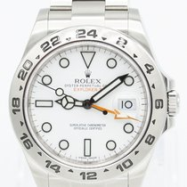 Rolex Explorer II Steel 42mm White No numerals United States of America, Georgia, ATLANTA