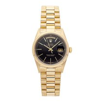 Rolex Day-Date 36 Yellow gold 36mm Black No numerals United States of America, Pennsylvania, Bala Cynwyd