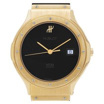 Hublot Yellow gold Quartz Black 32mm pre-owned Classic