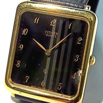 Citizen Zuto zlato Kvarc Crn Arapski brojevi 20mm nov