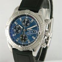 Breitling Chronomat Evolution Zeljezo 42mm Plav-modar