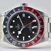 Tudor Black Bay GMT Zeljezo 41mm Crn Bez brojeva