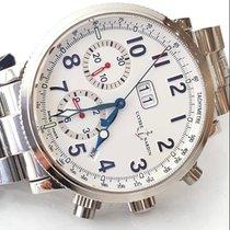 Ulysse Nardin Marine Chronograph Сталь 40mm Белый Aрабские