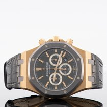 Audemars Piguet Royal Oak Rose gold 41mm Black No numerals UAE, dubai