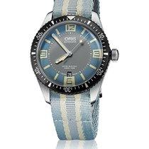 Oris Divers Sixty Five Steel 40mm No numerals