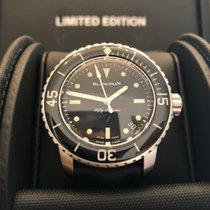 Blancpain Fifty Fathoms neu 2020 Automatik Uhr mit Original-Box und Original-Papieren Blancpain 5015E 1130 B52A 5015E-1130-B52A