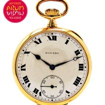 Movado Horloge tweedehands Geelgoud 41mm Handopwind Alleen het horloge