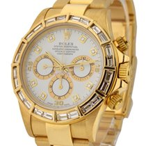Rolex Used 16528_after_market_bezel_white_dd Yellow Gold...